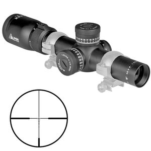 Alpen Optics Apex 1-6x24 Riflescope Illuminated AR-BDC Reticle 30mm Fixed Parallax First Focal Plane Matte Black Finish