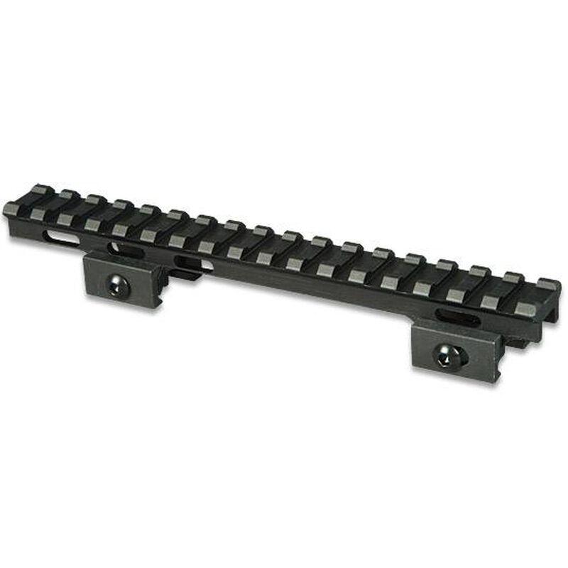"""Lion Gears AR-15 Tactical .75"""" Riser Mount 17 Slots 7"""" Long Aluminum Black BM1707"""