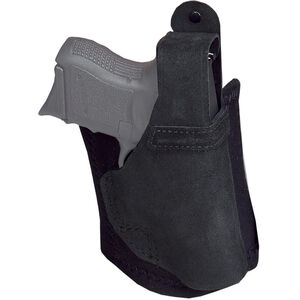 Galco Ankle Lite Ankle Holster Fits Ruger EC9s/LC9S Right Hand Neoprene/Leather Black