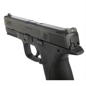 XS Sight Systems DXW Standard Dot Night Sights S&W SD9VE, SD40VE M&P 9/40/45 Fullsize and Compact Green Tritium Front/Solid White Rear Matte Black