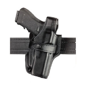 "Safariland 070 Heckler & Koch HK .45 4.25"" Barrel SSIII Level III Mid Ride Duty Holster Left Hand Leather Plain Black"