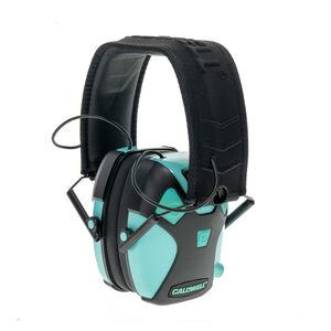 Caldwell E-Max Pro Electronic Earmuffs 23dB NRR Tiffany Blue 1101672