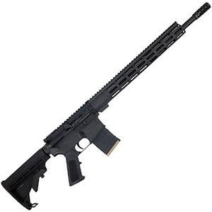 "Great Lakes .450 Bushmaster AR-15 Semi Auto Rifle 18"" Barrel 5 Rounds 15"" Free Float M-LOK Handguard Collapsible Stock Black Finish"