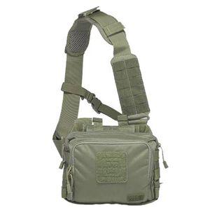 5.11 Tactical 2 Banger Bag Cross Body Strap 1050D Tear Resistant Nylon OD Trail 56180-236