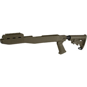 TAPCO Intrafuse T6 SKS Stock System Collapsible Stock/Pistol Grip/Picatinny Rail Upper Hand Guard Polymer Olive Drab Green