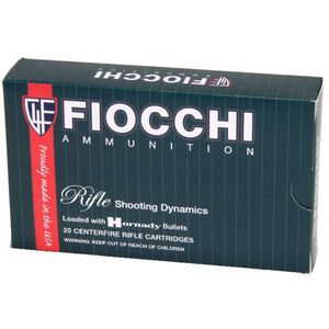 Fiocchi Rifle Shooting Dynamics .270 Winchester Ammunition 20 Rounds 130 Grain Interlock BT Projectile 3010 fps