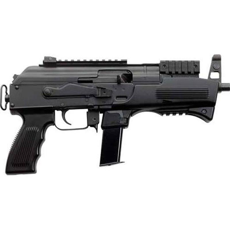 "Charles Daly AK-9 9mm Luger Semi Auto Pistol 6.3"" Barrel 10 Rounds Polymer Handguard Steel Black"