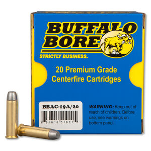 Buffalo Bore .357 Magnum Ammunition 20 Rounds LFN GC 180 Grains 19A/20
