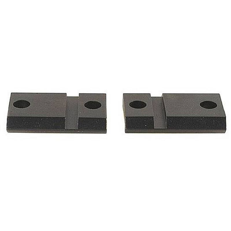 Warne Maxima Steel Two Piece Weaver Style Scope Base Savage/Ruger/TC/Remington Matte Black M902/902M