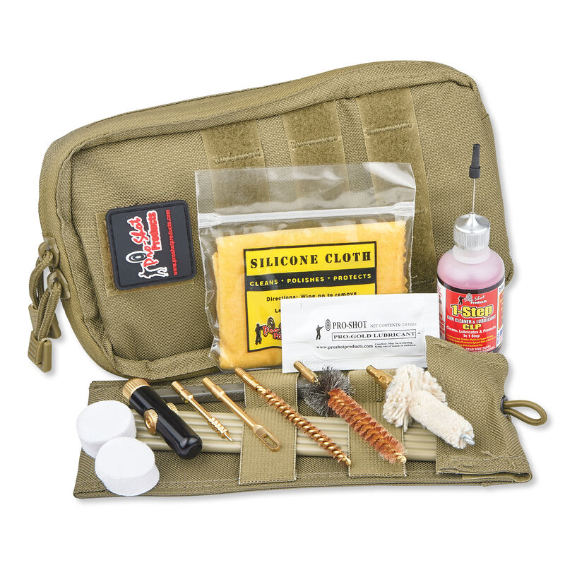 Pro Shot Tactical .223/5.56 Rifle Cleaning Kit Tan COY-AR223