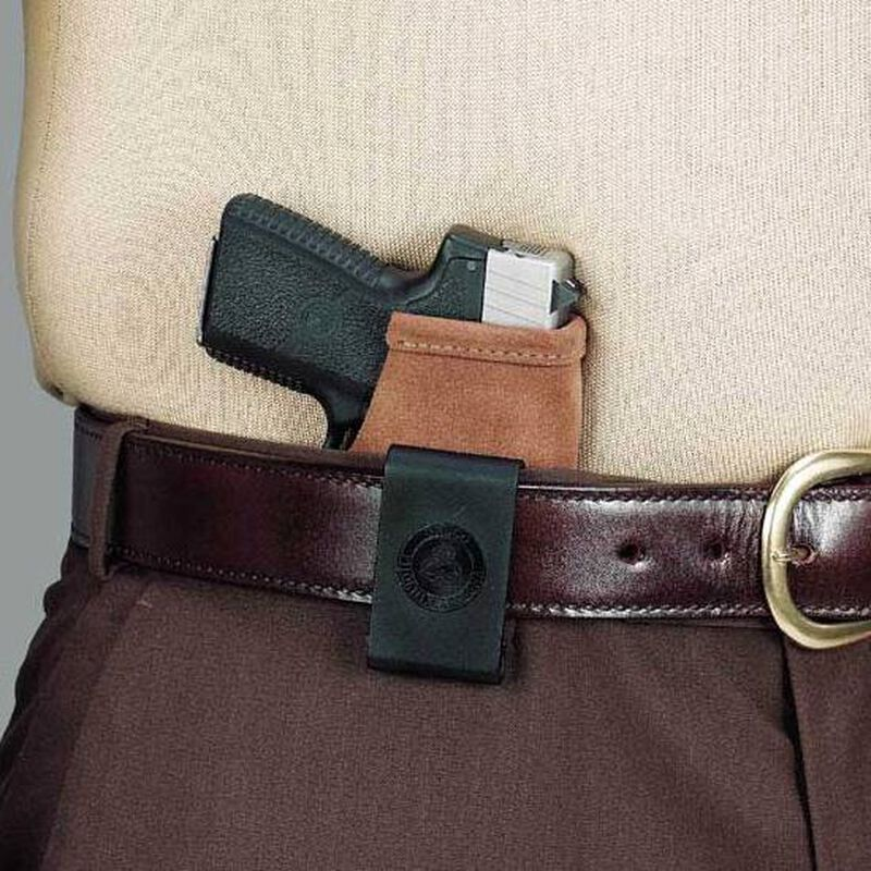 Galco Stow-N-Go 1911 Compact, Defender IWB Holster Right Hand Leather Natural Brown Finish STO424