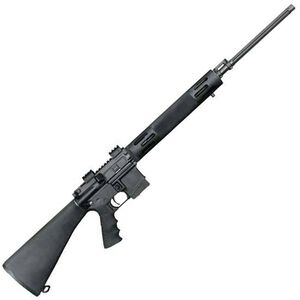 "Bushmaster Varmint AR-15 Semi Auto Rifle .223 Remington 24"" Match Grade Fluted Barrel 5 Rounds Two Stage Trigger Fixed Stock Matte Black Finish"