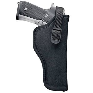 "Uncle Mike's Sidekick Hip Holster 4.5""-5"" Barrel Large Frame Semi Autos Right Hand Nylon Black 81051"