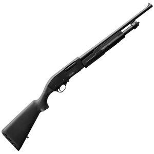 """EAA Akkar Churchill 620 20 Gauge Pump Action Shotgun 18.5"""" Barrel 3' Chamber 5 Rounds Polymer Synthetic Forend/Stock Stock Matte Black"""