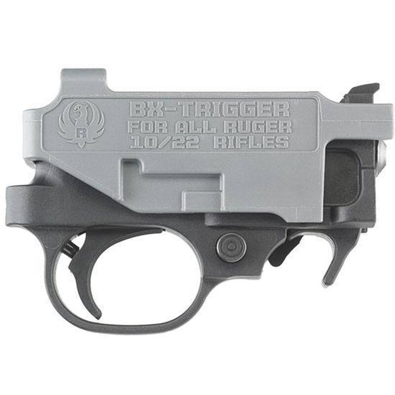 Ruger BX Trigger For 10/22 Rifle And 22 Charger Pistol Black/Gray 90462