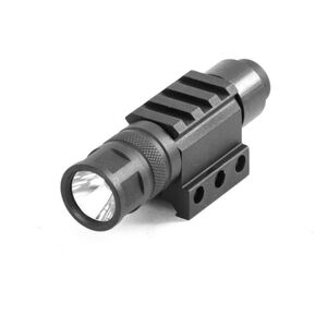 JE Machine 250 Lumen LED Tactical Flashlight with Pressure Switch