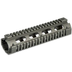 Leapers UTG PRO AR-15 Mid-Length Drop In Quad Rail Handguard Aluminum Black MTU007