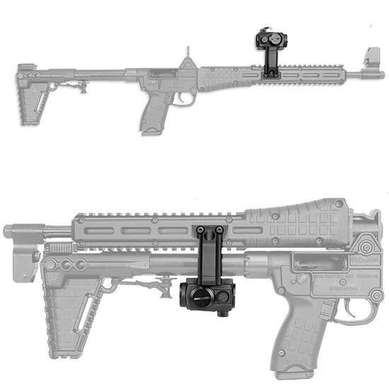 Gen 2 Sub 2000 Mount Fits Aimpoint T1 T2 H1 /& Gen 2 Sub 2000 Carbine Black