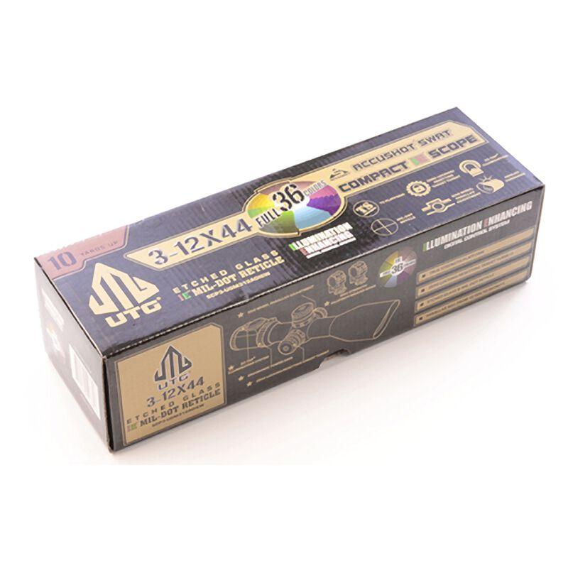 3-12x44 Compact AO Scope Leapers UTG 36 Color Illuminated