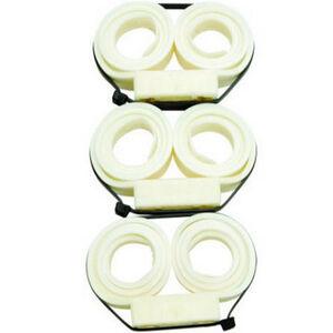 Monadnock Compact Double Cuff Nylon White 3 Pack 8711