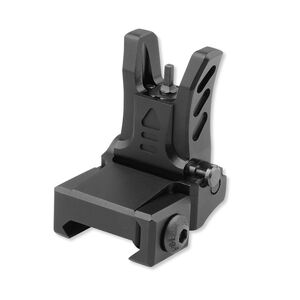 UTG Model 4 Low Profile Flip-up Front Sight for Handguard Black MNT-755