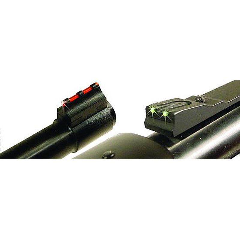 Williams Firesight Set Dovetail Marlin/Winchester Fiber Optic Sights Fixed Front Adjustable Rear Steel/Aluminum Matte Black