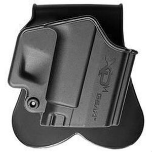 Springfield Armory XD(M) Paddle Holster Right Hand Kydex Black XDM3500H