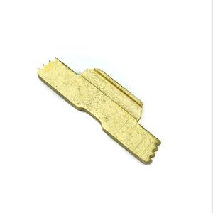 DELTAC Extended Slide Lock Lever For GLOCK 43 Steel Gold GLC43G
