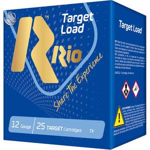 "RIO Ammunition Target Load Trap Light HC-32 12 Gauge Ammunition 2-3/4"" Shell #7.5 Lead Shot 1-1/8 oz 1150fps"