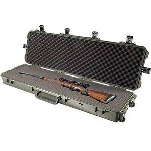 "Pelican Storm iM3300 Long Rifle Case 53"" Foam Internal Padding 6 Latches Watertight Soft Grip Handles OD Green IM3300OD"