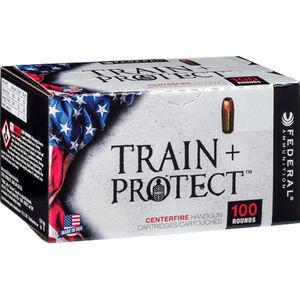 Federal Train+Protect .40 S&W Ammunition 100 Rounds Versatile JHP 180 Grains TP40VHP2