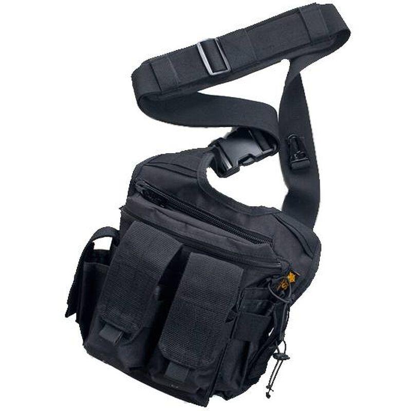 "US PeaceKeeper Rapid Deployment Pack 12""x10""x3"" Nylon Black P20307"