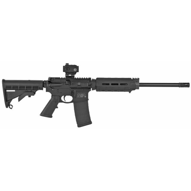 """S&W M&P15 Sport II AR-155.56 NATO Semi Auto Rifle 16"""" Barrel 30 Rounds Crimson Trace CS-103 Magpul Handguard Black"""