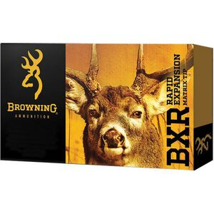 Browning BXR 7mm Remington Magnum Ammunition 20 Rounds BXR 144 Grains B192100071