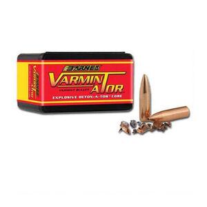Barnes 6mm Caliber Bullet 100 Projectiles Varminator 58 Grain