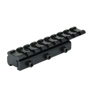 "TacFire Dovetail To Weaver Base Mount 4"" Black MRU004"