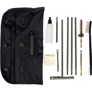 Tac-Shield Universal GI Cleaning Kit, Black Pouch, 16 Pieces