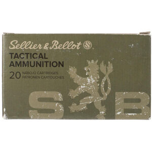 Sellier & Bellot .30-06 Springfield M1 Garand Ammunition 20 Rounds FMJ 150 Grains