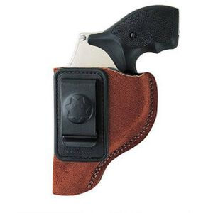 Bianchi Inside the Waistband Holster Left Hand Size 11 Suede Rust 18027