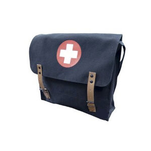 5ive Star Gear German Style Medical Shoulder Bag Black