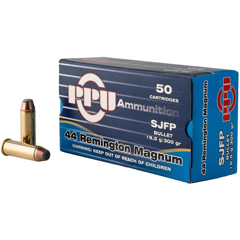 Prvi Partizan PPU .44 Rem Mag Ammunition 50 Rounds 300 Grain SJFP 1279fps