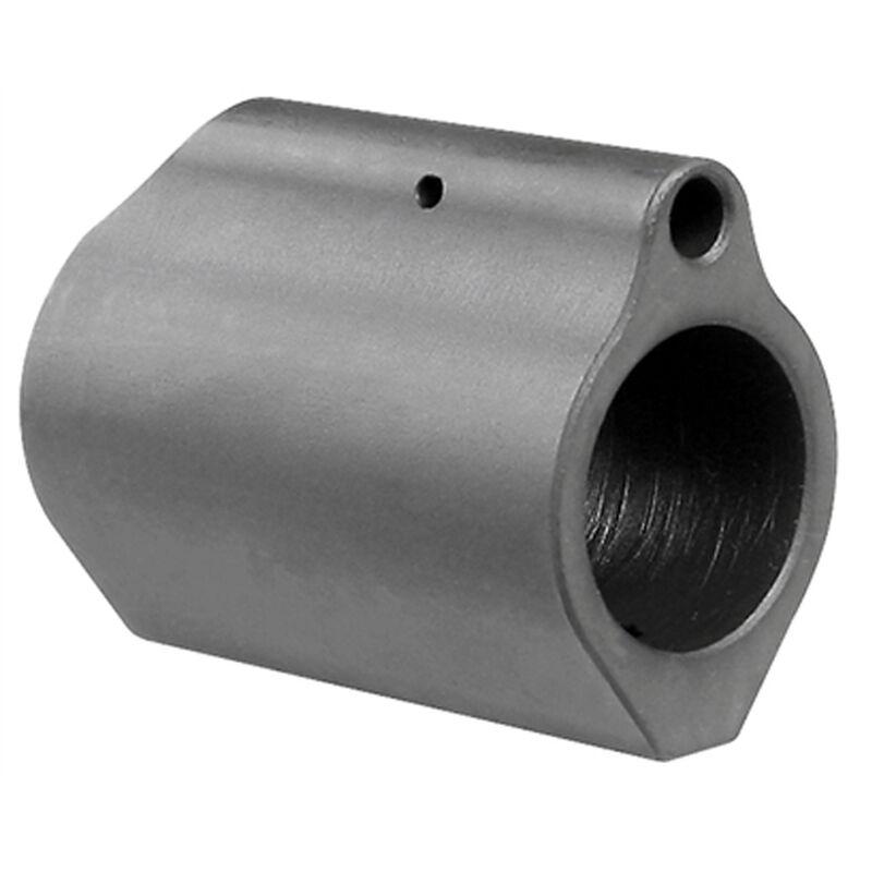 "Midwest Industries AR-15 Low Profile Gas Block .625"" Diameter 4140 Steel Matte Black Finish"
