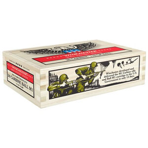 Winchester Victory Series .30 Carbine Ammunition 100 Round Case 110 Grain M1 Ball FMJ M1 Carbine WWII Collector Carton 1990 fps