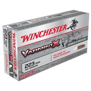 Winchester Varmint X .243 Win Ammunition 20 Rounds, PT, 58 Grains