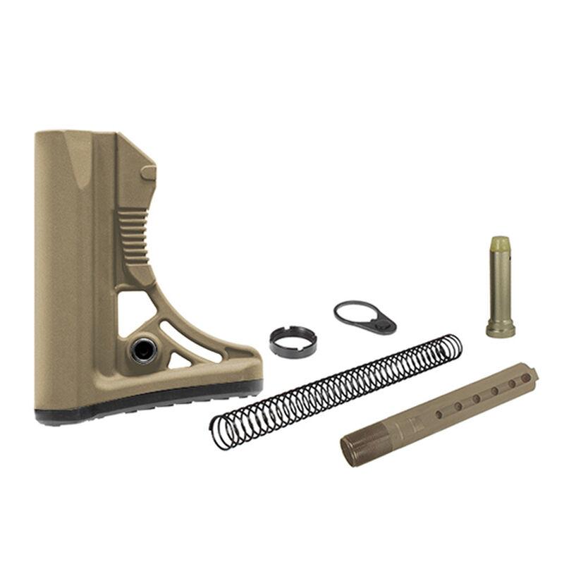 Leapers UTG PRO Model 4 Ops Ready S3 AR-15 Commercial Spec Stock Kit Flat  Dark Earth