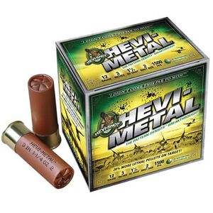 """Hevi-Shot Speed Ball 20 Gauge 10 Rounds 3"""" #3 1oz Lead Free 1400 fps"""