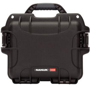 Nanuk 908 Utility Hard Case Waterproof Rust-Proof High Impact Polymer Black 908-1001