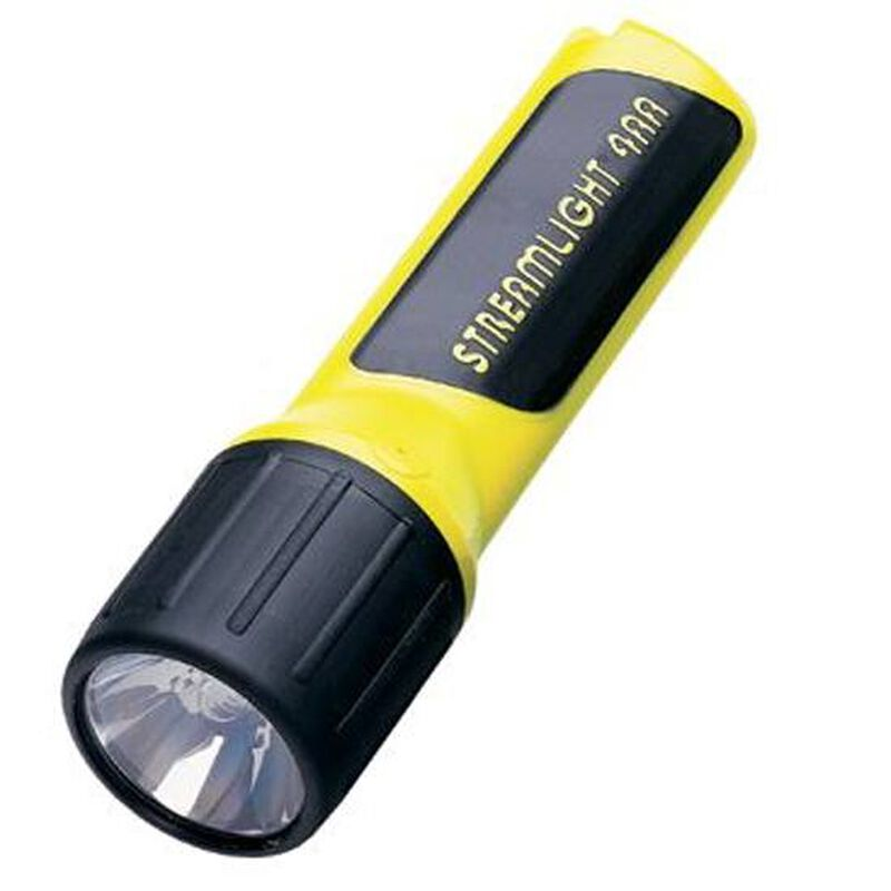 Streamlight ProPolymer LED Flashlight AA Batteries Plastic Body Yellow 68202