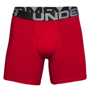 "Under Armour Men's Charged Cotton 6"" Boxerjock 3-Pack"