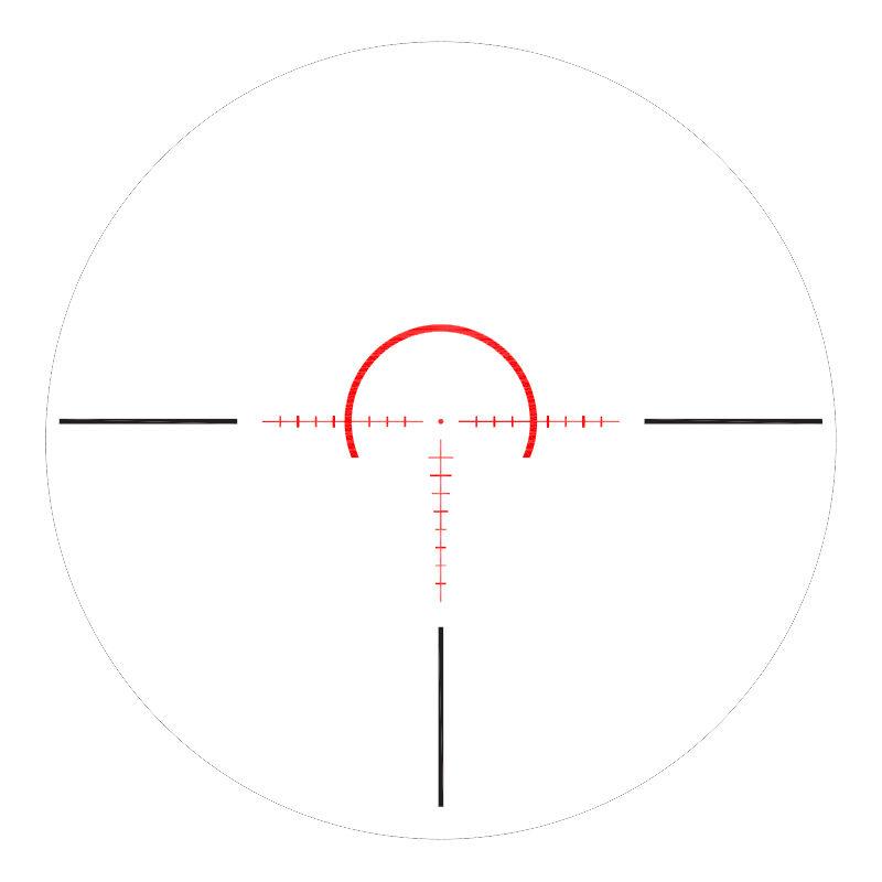 Riton Optics X7 Tactix 1-8x28 Riflescope 34mm Tube CM1 Illuminated Reticle FFP